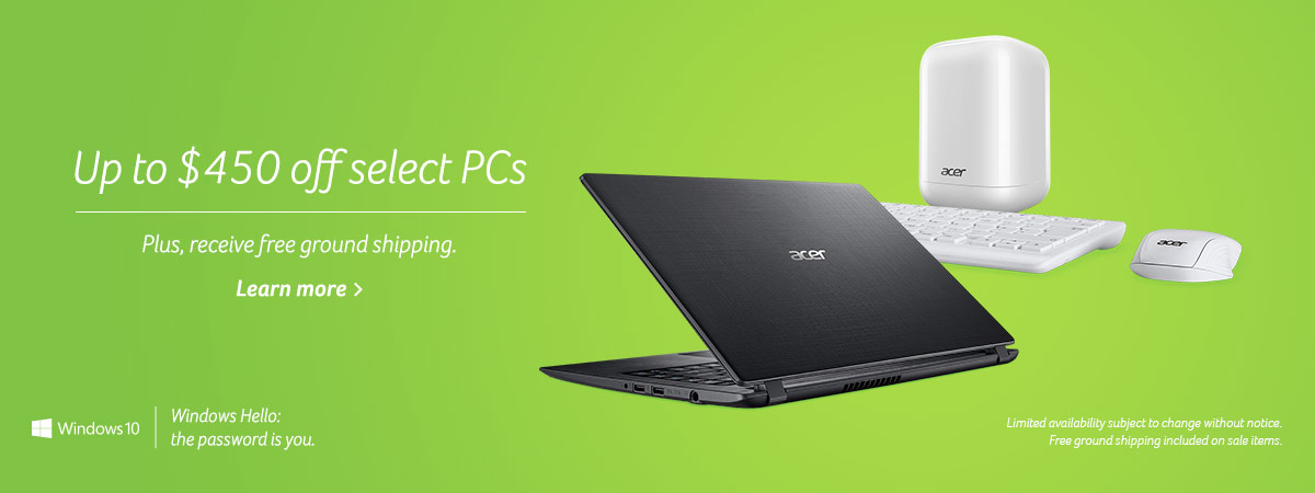 Up to $450 off select PCs - Plus, receive free ground shipping. Learn more.