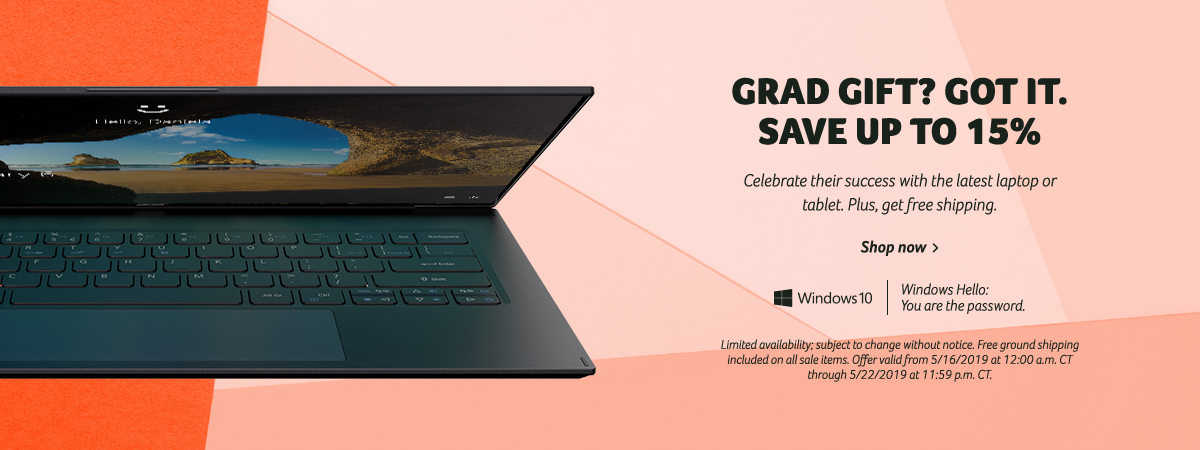 Reward the Grad with up to 15% off Acer Laptops