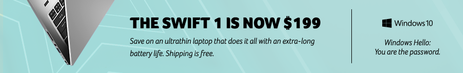 Get the Swift 1 for $199