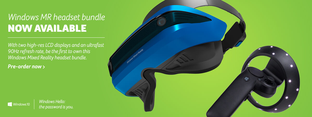 Windows MR Headset Bundle - Immersive Technology - Available Now!