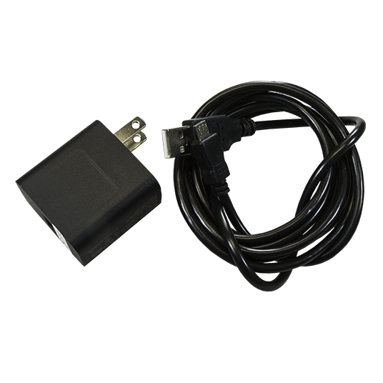 This 10-watt AC adapter with USB cable meets the specifications of the original AC adapter that shipped with your unit. It is ideal for spare power needs on the road.