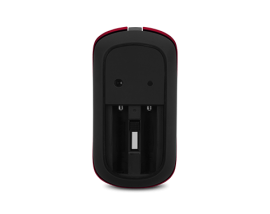 Ultra-Slim Optical Mouse - AMR820 - Lava Red