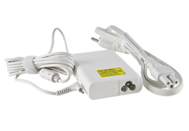 65W Adapter with Power Cord (White)