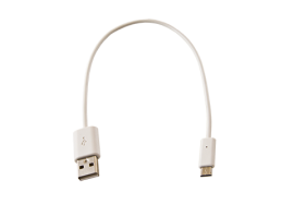 USB Cable (Type A to Type B Micro) (White)