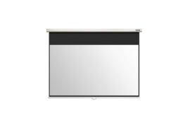 Projector Screen 90 Inch 16:9 Manual Pull Down