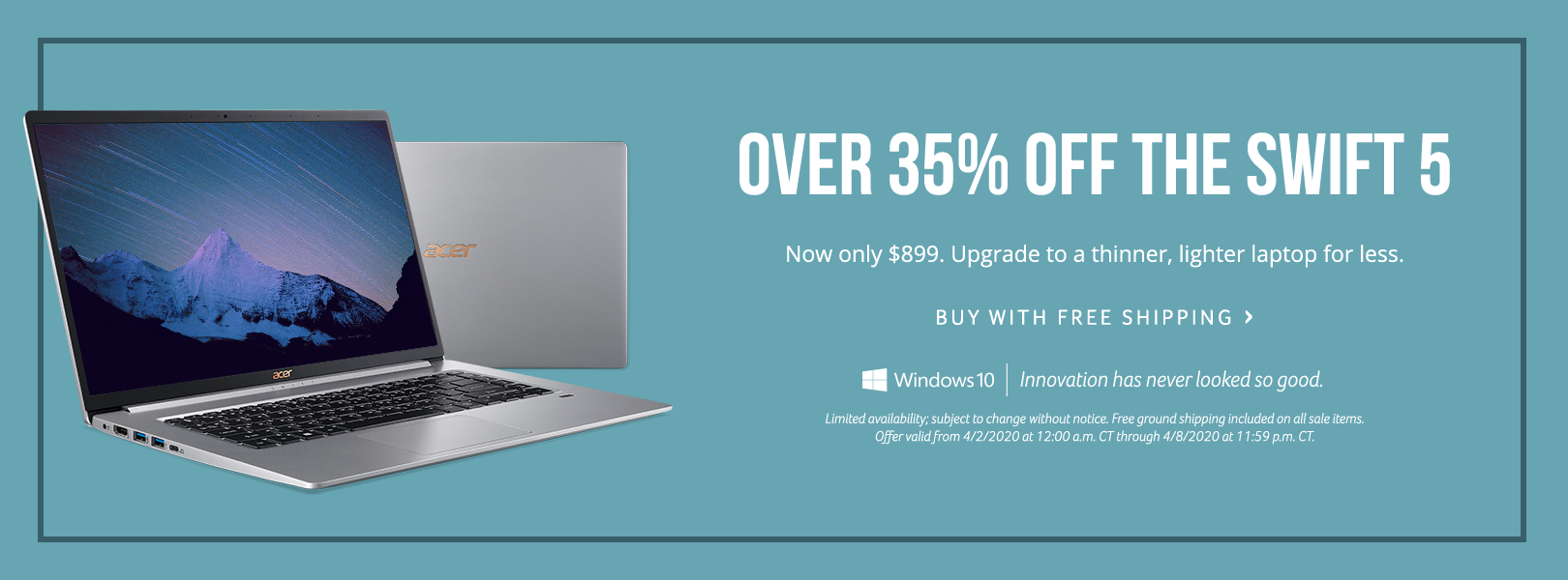 Save over 35% on the Swift 5