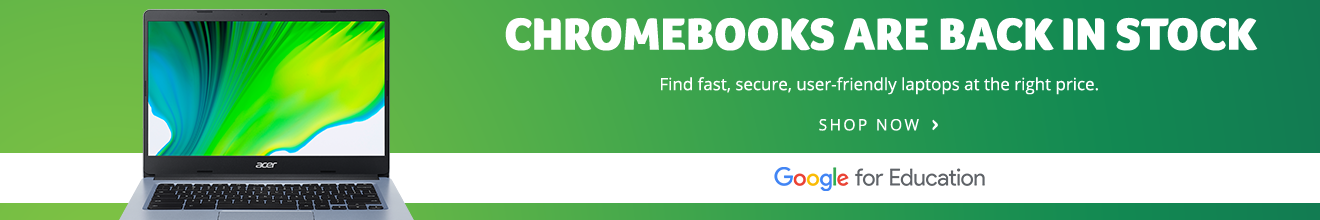 Chromebooks are back in stock