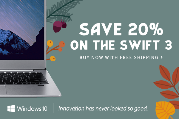 Save 20% on the Swift 3