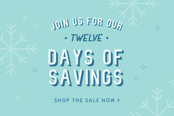 12 Days of Savings Promotion