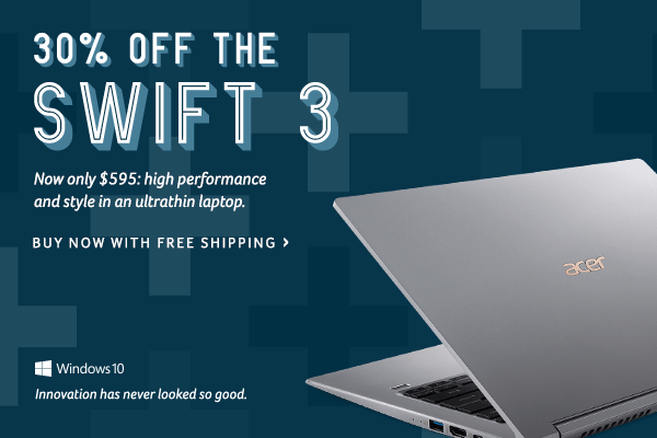 30% off the Swift 3