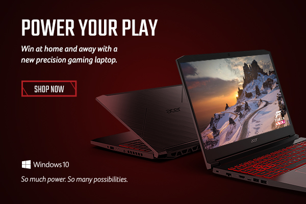 Power your play. Win at home and away with a new precision gaming laptop.