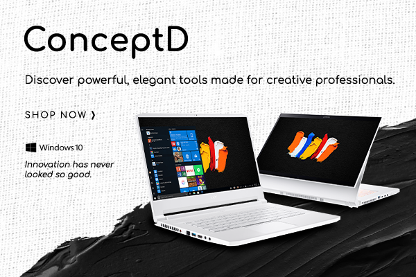 ConceptD: Discover powerful, elegant tools made for creative professionals