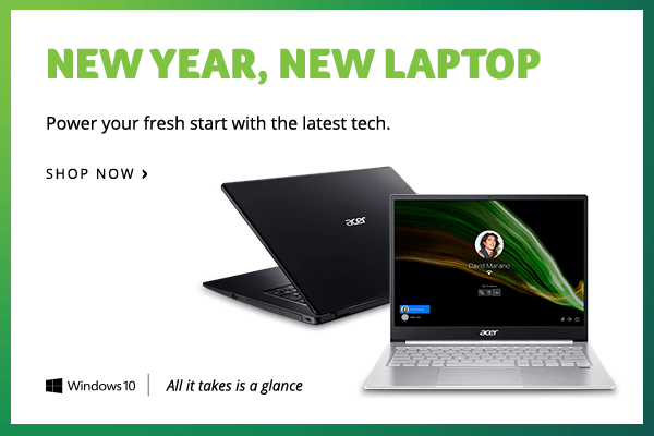 New Year, New Laptop