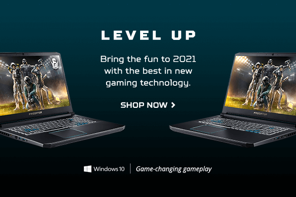 Level up: bring the fun to 2021 with the best in new gaming technology