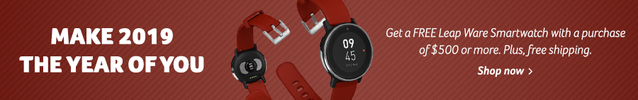 Free Leap Ware Smartwatch with purchase of $500 or more